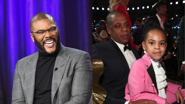 """Tyler Perry sobre filha de Beyoncé: """"Esta miúda não me vai derrotar"""""""