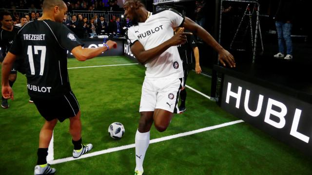 Futuro de Bolt no futebol está nas mãos do Borussia Dortmund