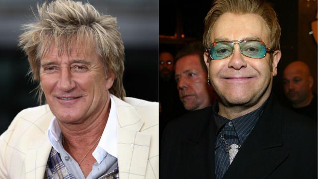 Rod Stewart diz que Elton John usou despedida para vender bilhetes