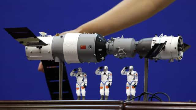 Acompanhe em tempo real o percurso da estação espacial chinesa