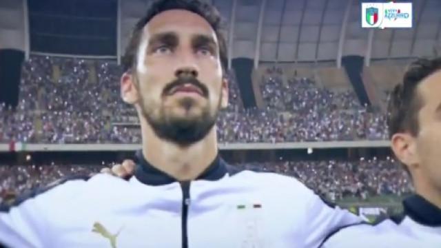Itália defrontará Argentina com homenagem a Astori na camisola