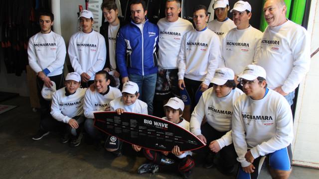 Garrett McNamara anunciado embaixador da Yamaha WaveRunners
