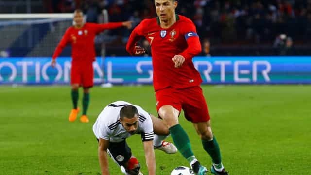 'Faraó' Ronaldo derrubou as 'pirâmides' ao cair do pano