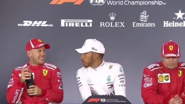Hamilton e Vettel reacendem rivalidade na primeira prova da época