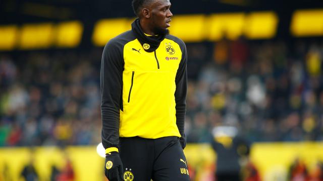 Usain Bolt em negociações com clube de futebol australiano