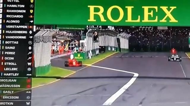 Estratégia no seu melhor: Vettel foi às boxes e 'arrumou' Hamilton