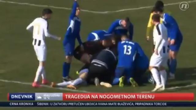Tragédia na Croácia: Jogador de 25 anos morre em campo