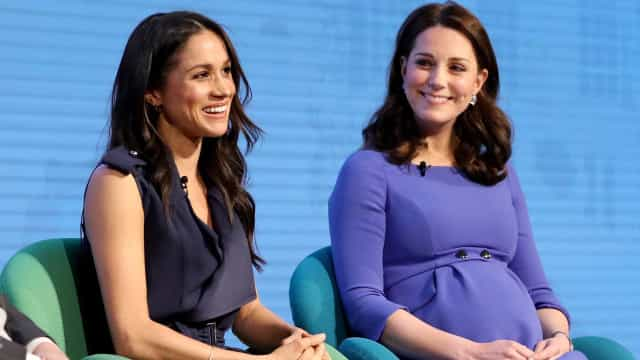 Meghan Markle exclui Kate Middleton do seu grupo de damas de honor