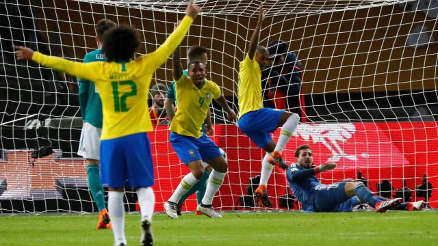 Quatro anos depois, Brasil 'vinga' o 7-1 da Alemanha