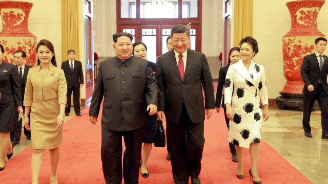 Visita de Kim Jong-un comprova relevância da China para a Coreia do Norte