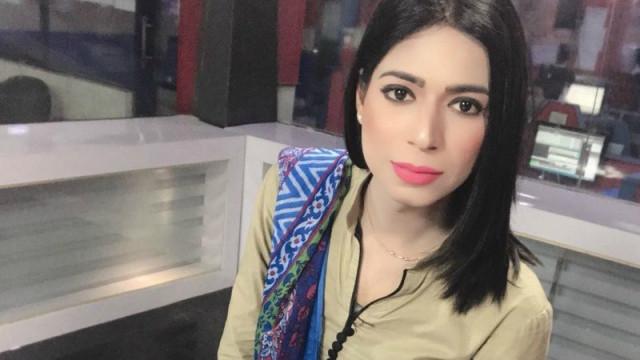 Marvia, a primeira transexual a tornar-se pivô na televisão paquistanesa