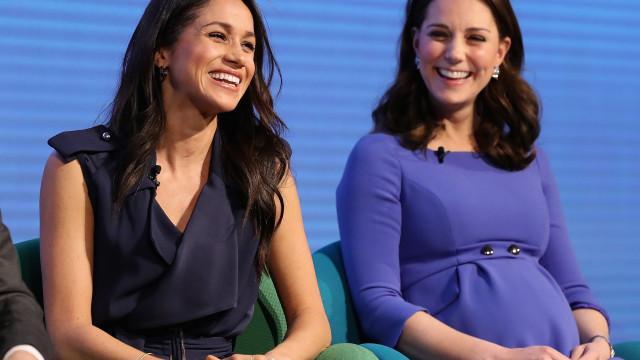 Kate Middleton quer organizar um chá de bebé para Meghan Markle