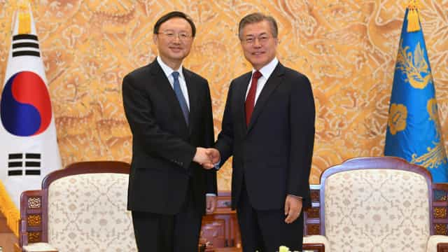 """China espera """"grandes avanços"""" das cimeiras entre coreias"""
