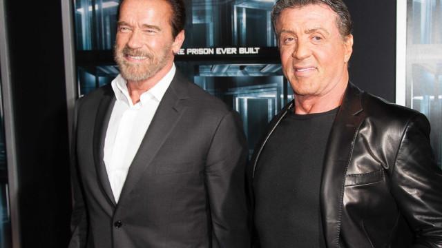 Sylvester Stallone fala de Schwarzenegger após cirurgia ao coração