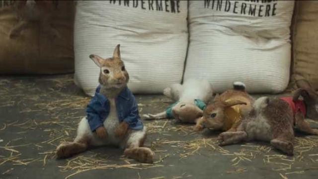 A Páscoa passou mas 'Peter Rabbit' manteve liderança nas bilheteiras
