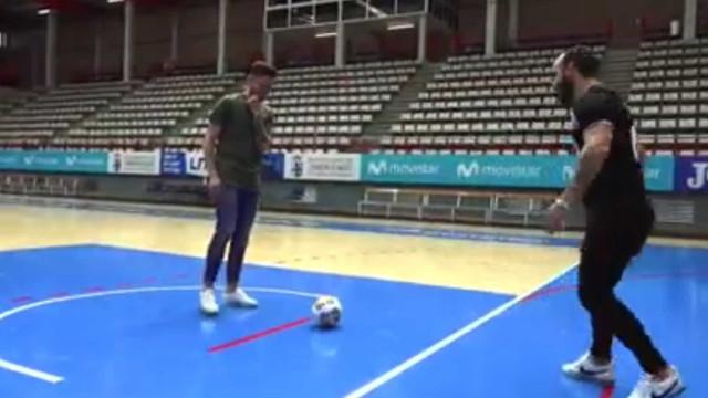 Atenção, Sporting: Ricardinho deu aulas ao 'inimigo'