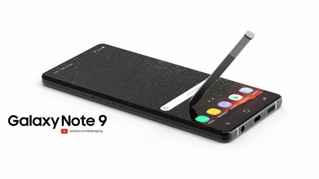 Ansioso pelo Galaxy Note 9? Este 'concept' não vai ajudar