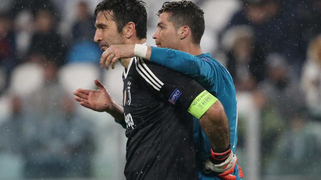Cristiano Ronaldo na Juve? Eis a resposta de Buffon