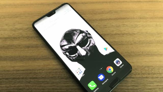 Ilustração mostra o provável aspeto de futuros smartphones da Huawei