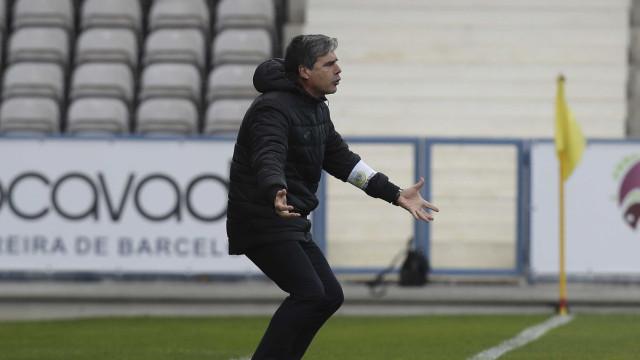 Miguel Leal deixou comando técnico do Arouca