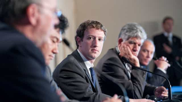 Polémica deixou Zuckerberg isolado entre as grandes tecnológicas