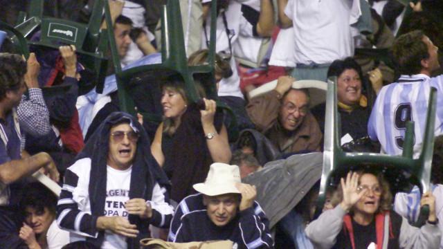 Reencontro Argentina-Chile: Da última vez este duelo acabou em pancada