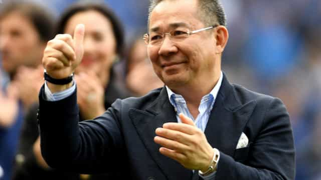 Leicester City confirma morte do presidente do clube