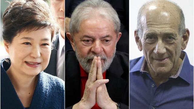 Atrás das grades. Estes líderes políticos (também) foram presos