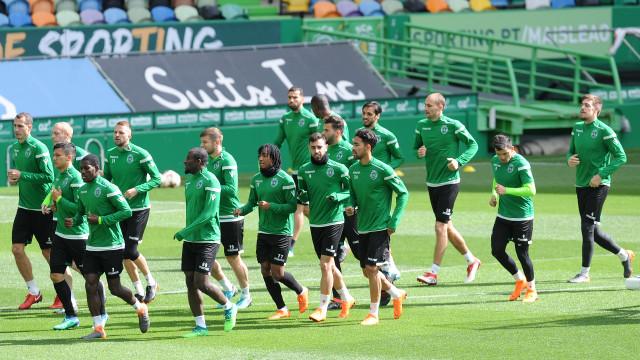 Estrutura e a maioria dos jogadores do Sporting já estão em Alvalade