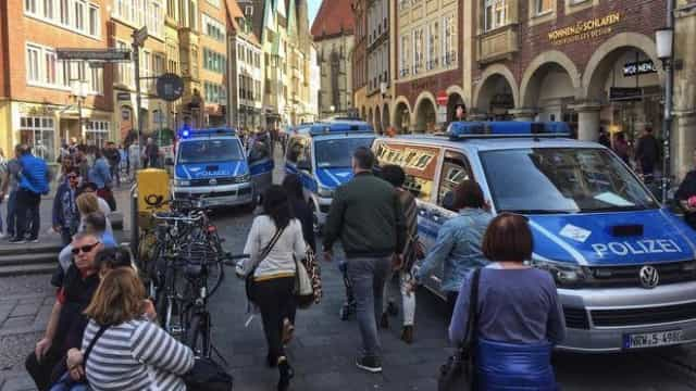 Pelo menos três mortos confirmados em ataque na Alemanha