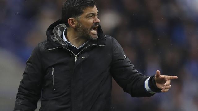 Sérgio Conceição 'chumba' reforços do FC Porto