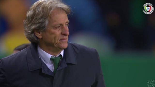 Jorge Jesus não conteve a emoção antes do Sporting-P. Ferreira