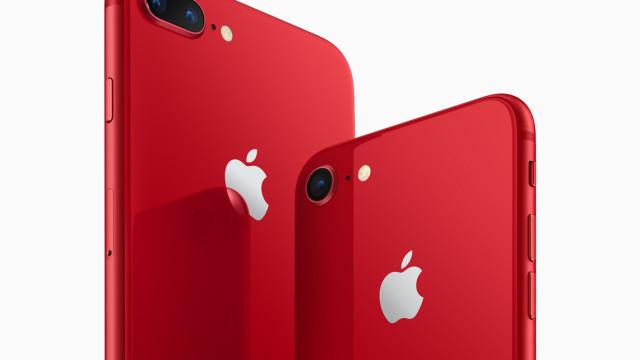 Aí estão eles. Apple confirma versão RED do iPhone 8 e iPhone 8 Plus