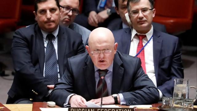 """Rússia diz que há risco de """"guerra"""" com EUA se Washington lançar ataque"""