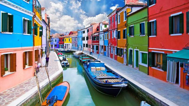 Deslumbrante: Veja as localidades mais coloridas do planeta