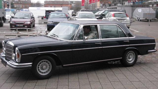Há 50 anos a Mercedes fabricou um carro com 'estrela michelin'
