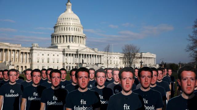 Zuckerberg foi ouvido em Congresso e a Internet não desapontou