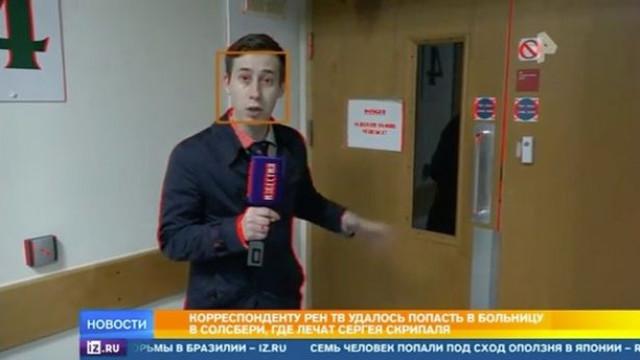 Jornalista russo em busca de Skripal entra às escondidas em hospital