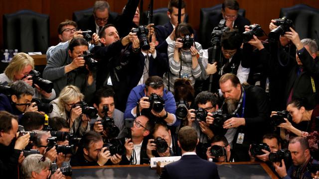 Fotografia de Zuckerberg é a perfeita representação da privacidade online