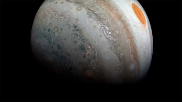 NASA publicou novas imagens de Júpiter e vai querer admirá-las