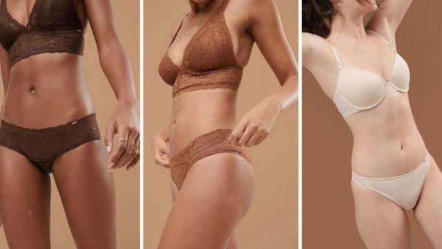 A nova linha de lingerie da Asos leva a repensar o conceito de 'nude'