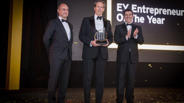 António Rios de Amorim vence prémio empreendedor português do ano da EY