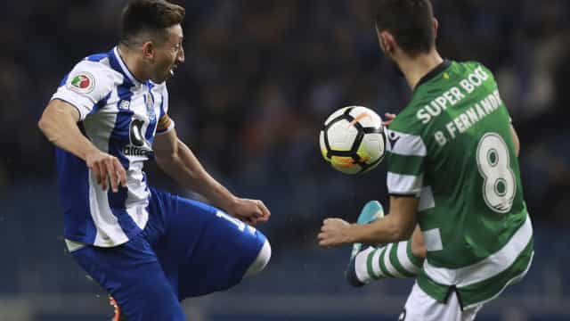 Sporting-FC Porto: Já há onzes para o Clássico
