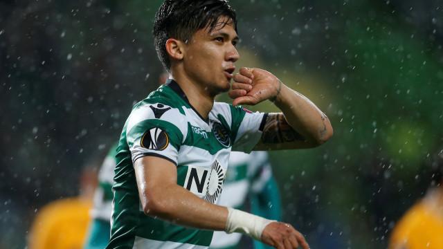 Fredy Montero pode deixar o Sporting para rumar... à Grécia