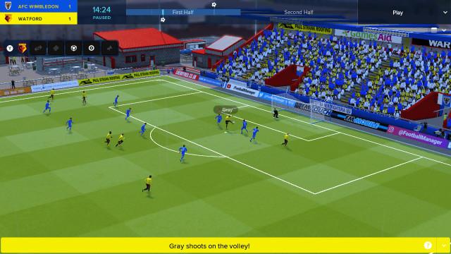 Surpresa. 'Football Manager' chegou hoje à Nintendo Switch