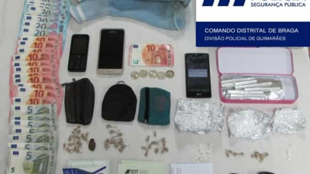 PSP detem português que se preparava para levar droga para França