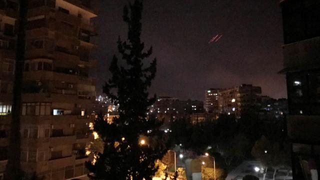 Começou a guerra contra as armas químicas. Síria está sob fogo