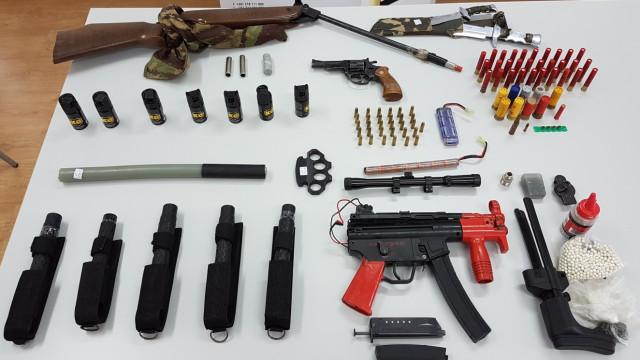 Buscas em Lisboa, Porto e Setúbal devido à venda de armas na internet