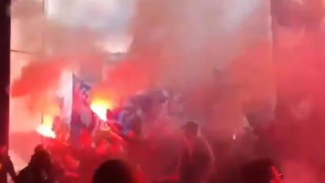 Loucura na partida do FC Porto para Lisboa