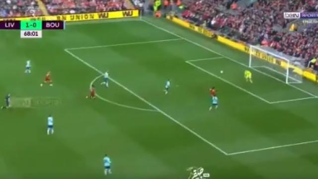 Salah continua imparável. Novo jogo... novo golaço